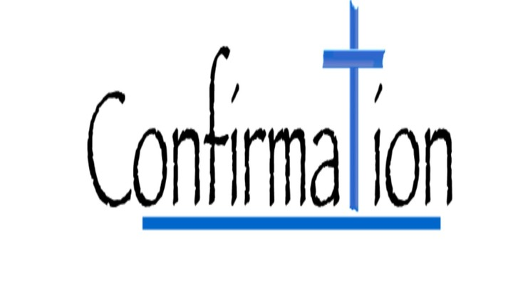1st Year Confirmation logo image