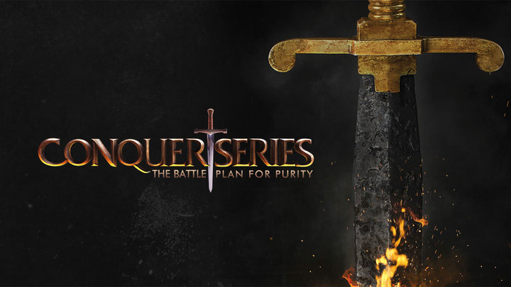 Conquer Series Men's Study logo image