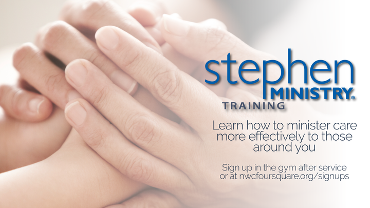 Stephen Ministry Training logo image