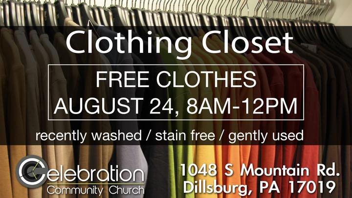 Clothing Closet - Free Clothes  logo image