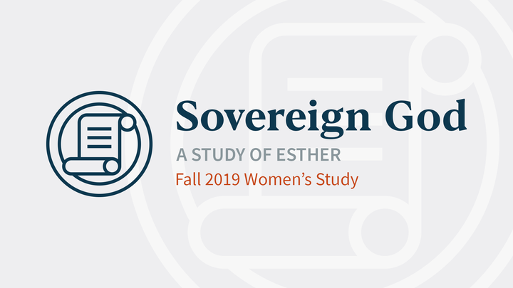 Sovereign God (PM Women's Bible Study) logo image