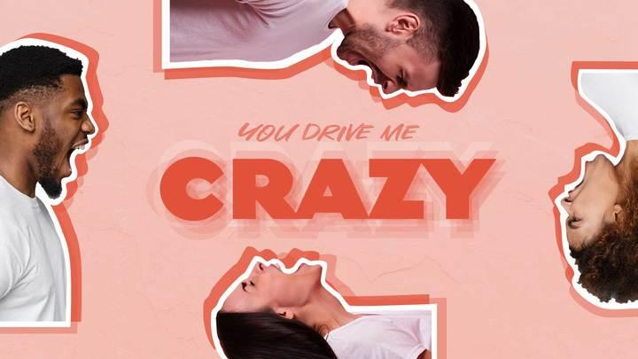 You Drive Me Crazy logo image