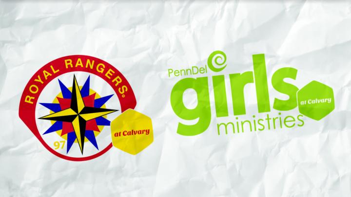 Royal Rangers, Girls Ministries, and Rainbows (Kids and Teen LifeGroups) logo image