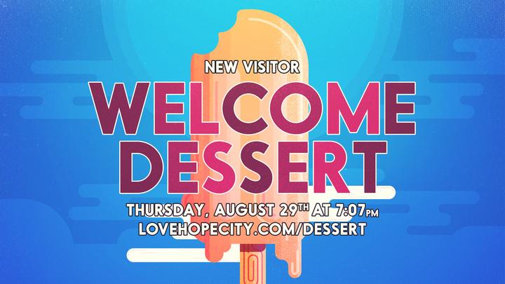 New Visitor Welcome Dessert logo image