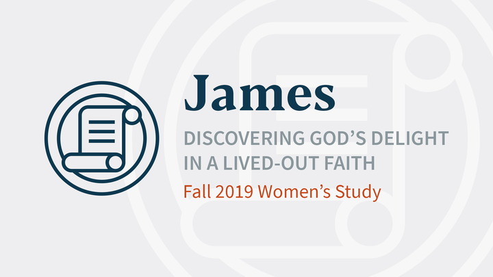 James: Discovering God's Delight in a Lived-Out Faith (Women's Bible Study) logo image