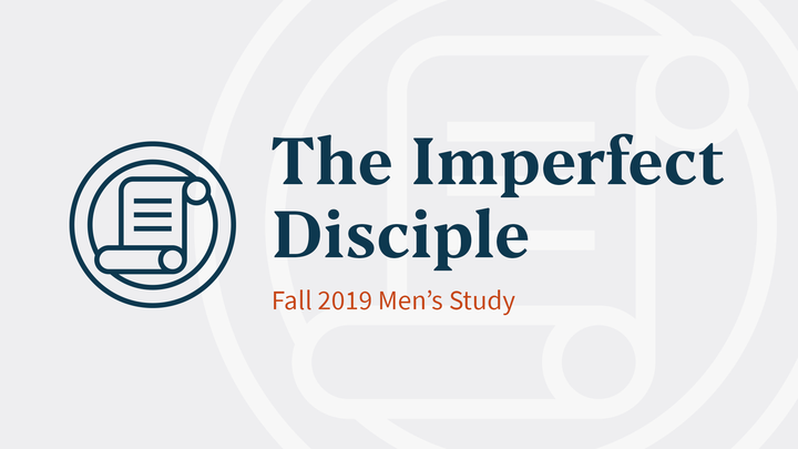The Imperfect Disciple (Men's Book Study • Turner Group) logo image