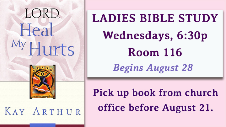 Ladies Bible Study - Wednesday Evening logo image