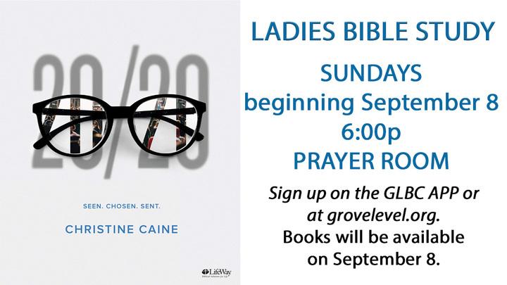 Ladies Bible Study - Sunday Evening logo image