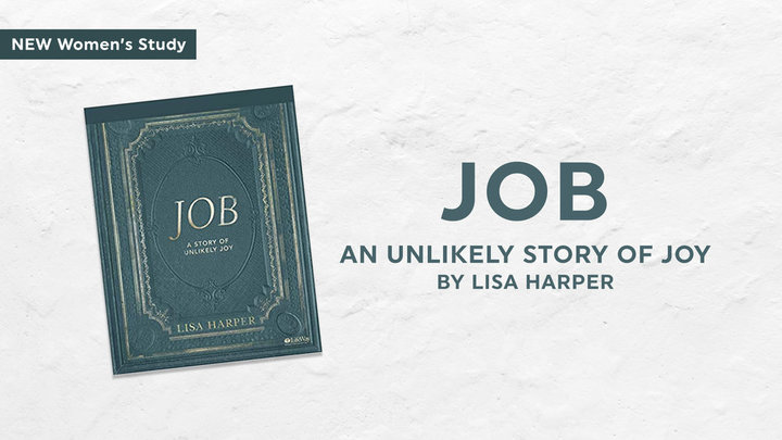 Job: A Story of Unlikely Joy (by Lisa Harper)  Ladies Bible study logo image