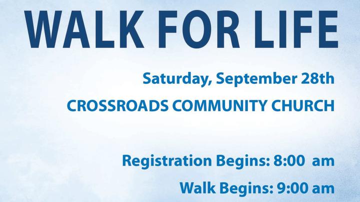 SVC Walk For Life logo image