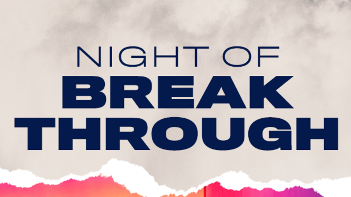 Young Adults Night of Breakthrough logo image
