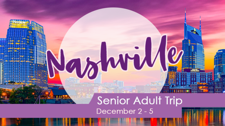 Senior Adults to Nashville logo image