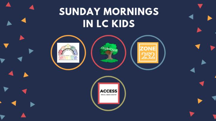 LC Kids Sunday Morning logo image