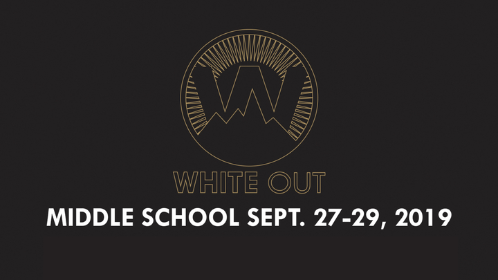 MILE HIGH VINEYARD | Middle School White Out Registration (2019) logo image