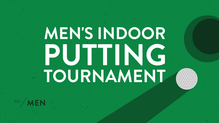 Men's Indoor Putting Tournament logo image
