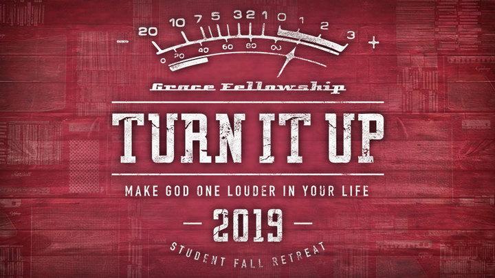 Fall Student Retreat : Turn It Up logo image