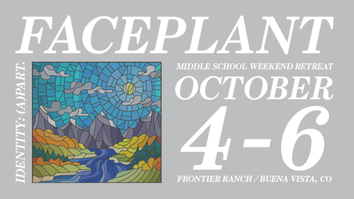 Faceplant Middle School Retreat logo image