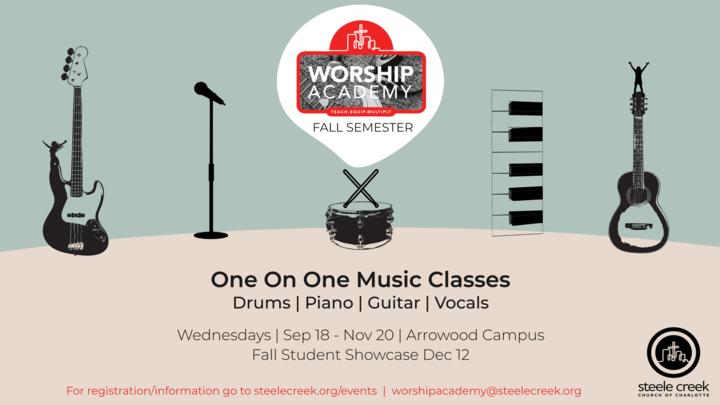 Worship Academy Fall 2019 Enrollment logo image