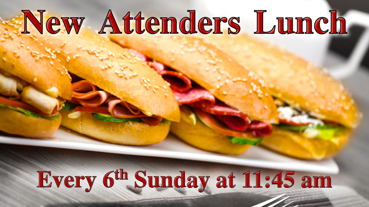 New Attenders Lunch logo image