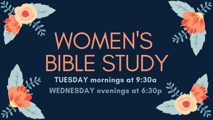 Women's Bible Study - Tuesday Morning | Wednesday Evening logo image
