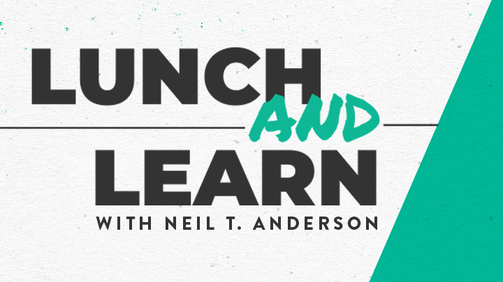Lunch & Learn with Neil T. Anderson logo image
