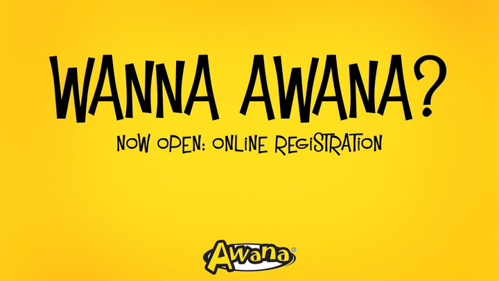 2019-2020 AWANA Child Registration logo image
