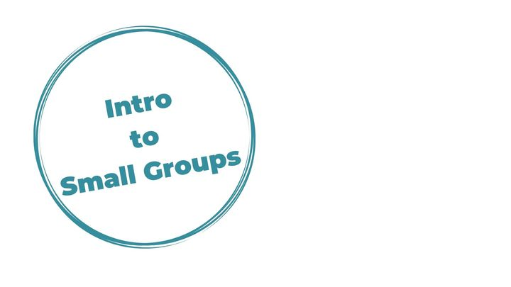 Intro to Small Groups logo image