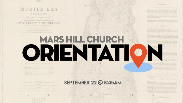 Mars Hill Mobile Orientation Seminar logo image