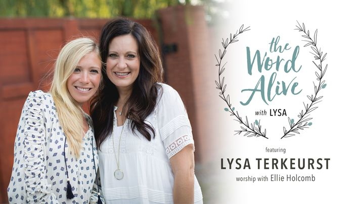 The Word Alive with Lysa - Women's Conference logo image