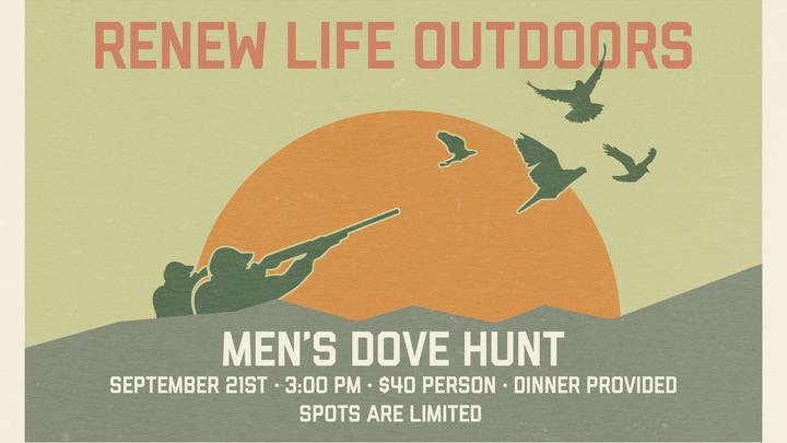 Men's Dove Hunt   September 21st logo image
