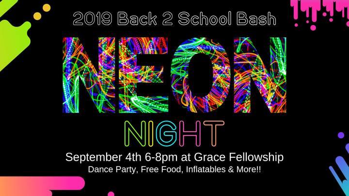 Neon Night for GSM logo image