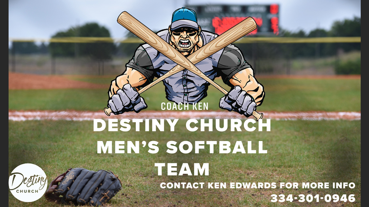 Destiny Church Men's Softball logo image