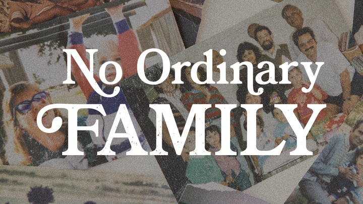 Sunday Morning Services - No Ordinary Family logo image