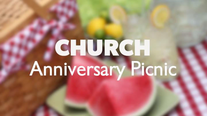 Anniversary BBQ Potluck logo image