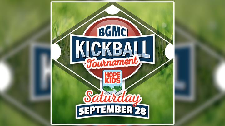 Hope Kids BGMC Kickball Tournament logo image