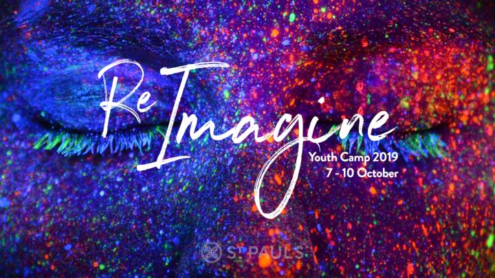 Youth Camp 2019 - Reimagine logo image