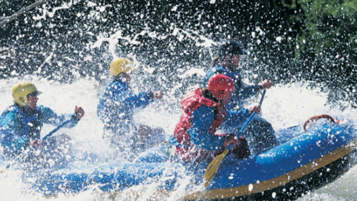 Young Adult White Water Rafting Trip logo image