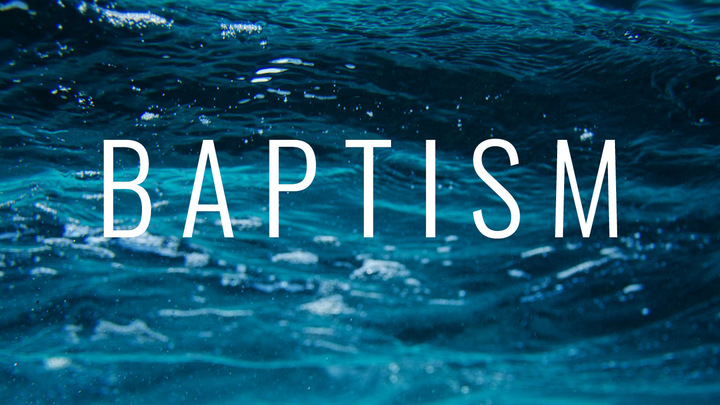 Baptism | Tomball | October 27 logo image