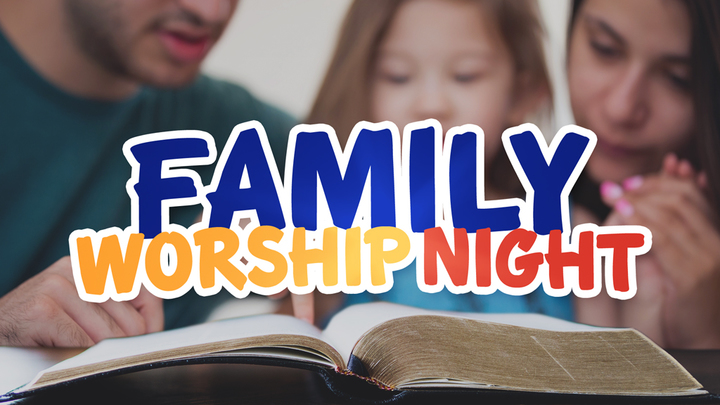 Family Worship Night | Step into My Shoes logo image
