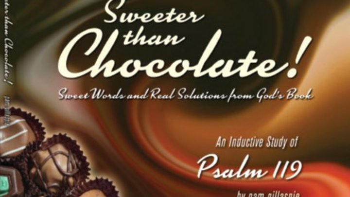 "Precepts Bible Study ""Sweeter Than Chocolate - Psalm 119"" logo image"