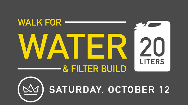 20 Liters Walk for Water and Filter Build logo image