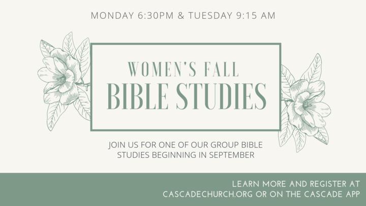 Bible Studies - Winter 2019 logo image