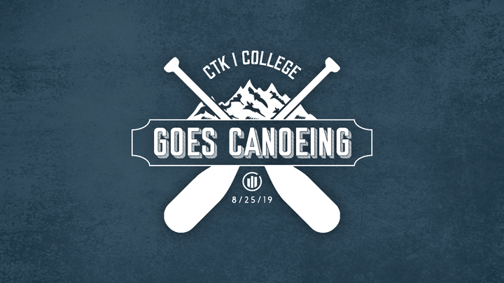 College Canoe Trip   logo image