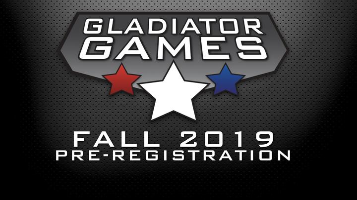 Gladiator Games Fall 2019 logo image