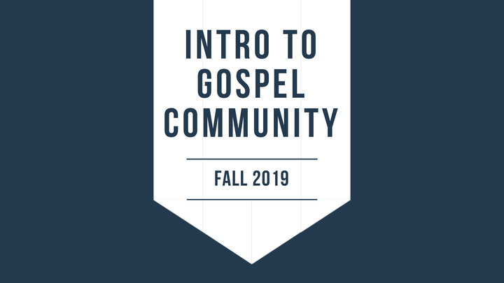 Introduction to Gospel Community logo image