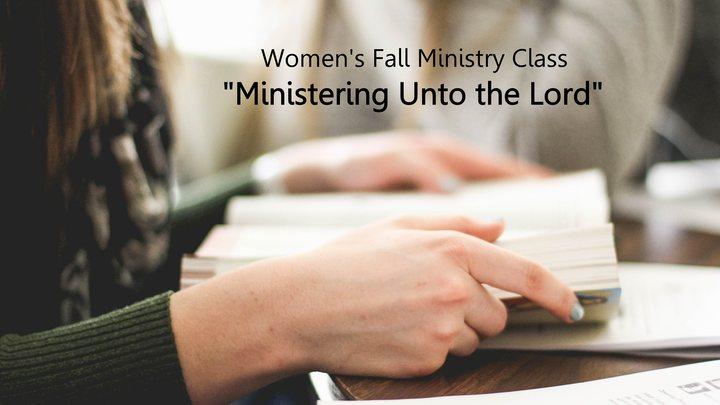 Women's Fall Ministry Class logo image