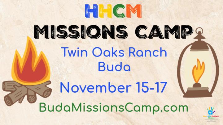 HHCM Missions Camp  logo image