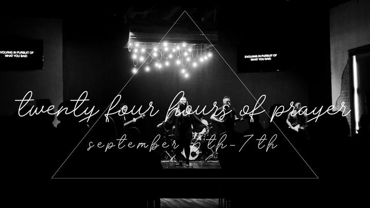 24 Hours of Prayer logo image