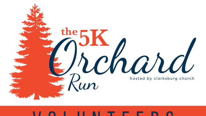 The 5k Orchard Run Volunteers logo image