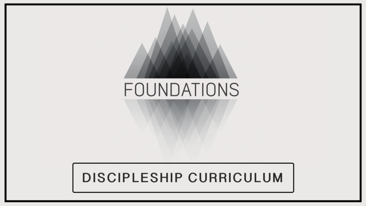 Foundations Discipleship Curriculum logo image